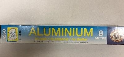 ASSO алуминиево фолио 8 м