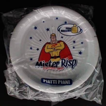 MISTER RISP еднократни чинии дълбоки 30 бр