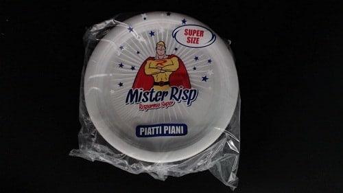 MISTER RISP еднократни чинии плитки 30 бр