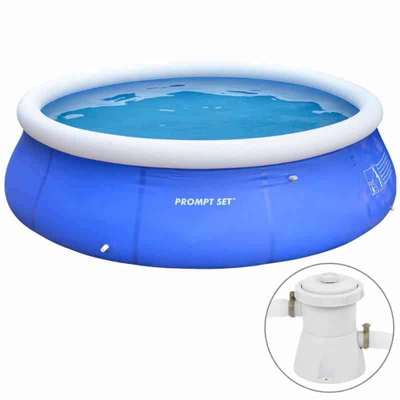 Pool Надуваем басейн 360×76 см с филтрираща помпа