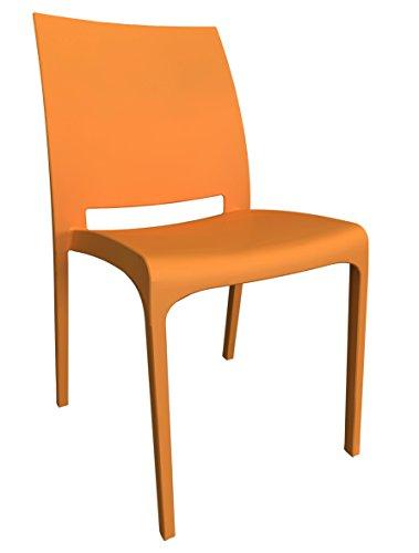 Пластмасов стол Оранжев