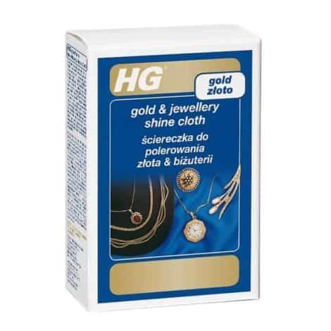 Кърпа за Блясък на Златни Бижута HG 433
