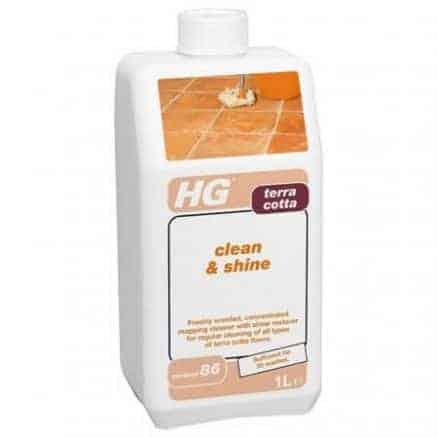 Почистване на Теракот с Блясък HG 191
