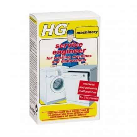 Препарат за Почистване на Перални и Съдомиялни HG 248 домиялни Машини