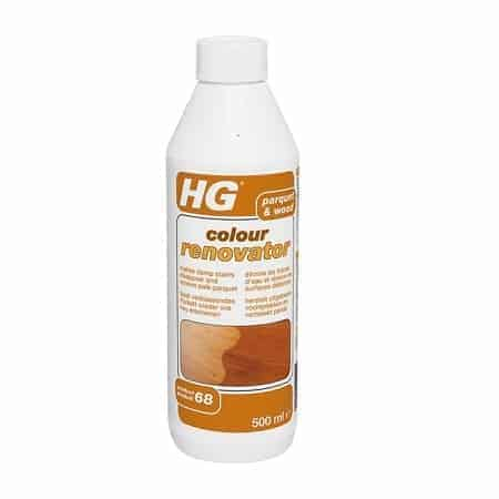 Препарат за Реновиране на Естествения Цвят на Паркет HG 450елакиран или Ваксиран Паркет 500 мл