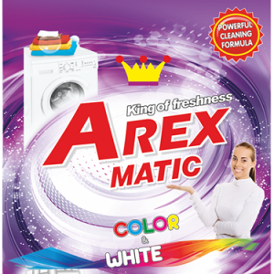 Arex Matic Color&White Прах за Пране 1кг / 10пр