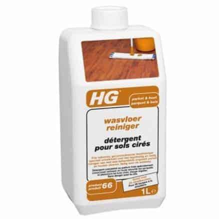 Ежедневно Почистване на Дървени Подове с Натурална Вакса HG 459