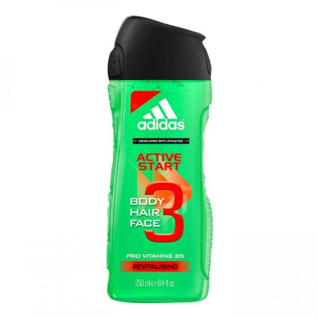 Adidas Душ Гел 3в1 – Active Start 250 ml.