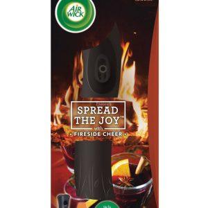 Air Wick Fireside Cheer Ел. Спрей Ароматизатор + Пълнител 250 мл + Батерия