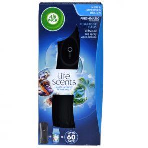 Air Wick Turqoise Oasis Ел. Спрей Ароматизатор + Пълнител 250 мл + Батерия