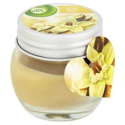 Air Wick Ароматизираща Свещ – White Vanilla Bean 30 г.