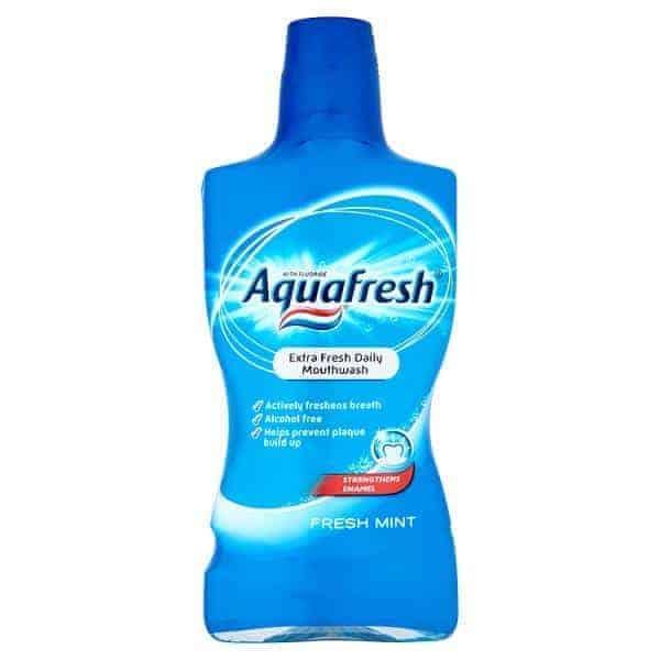 Aquafresh Fresh Mint Вода за Уста 500ml