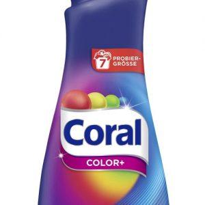 Coral Течен Перилен Препарат Color+ 7 изпирания 490 мл.