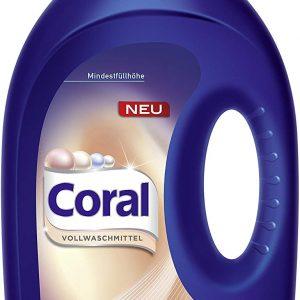 Coral Течен Перилен Препарат Sensitive 16 изпирания 1.26 л.