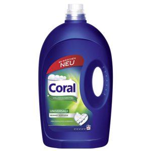 Coral Течен Перилен Препарат Universal 16 изпирания 1.26 л.