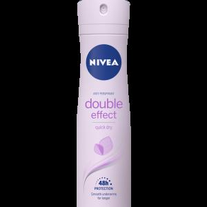 Nivea Double Effect Дамски Дезодорант +33 % Гратис 200 мл.