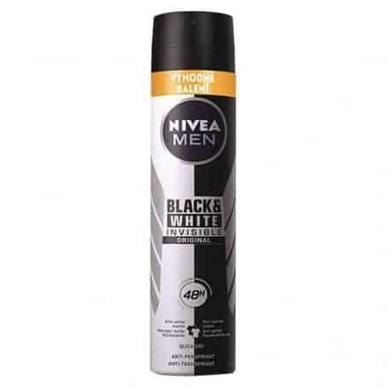 Nivea Men Black & White Invisible Мъжки Дезодорант +33 % Гратис 200 мл.