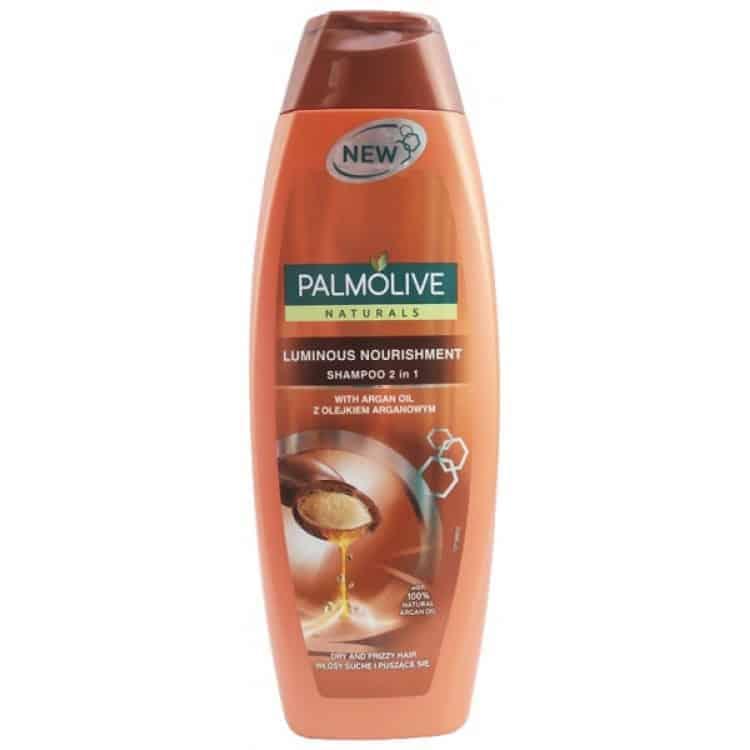 Palmolive Шампоан 2в1 с Арганово Масло Luminous Shine 350 ml.