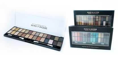 Max & More Eyeshadow Palette Палитра Сенки за Очи – Forest