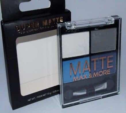 Max & More Super Matte Сенки за Очи с Матиращ Ефект – 03 Blue