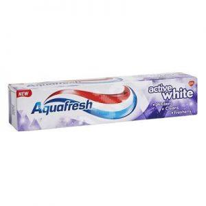 Aquafresh Active White Паста за Зъби 125 мл.
