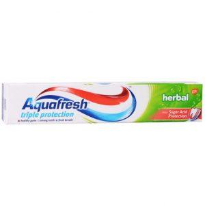 Aquafresh Triple Protection Herbal Паста за Зъби 75 мл.