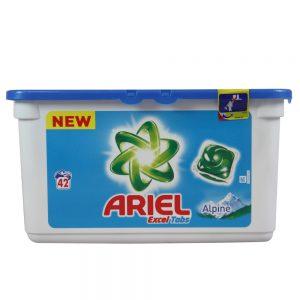Ariel Капсули за Пране Excel Tabs Alpine 42 изпирания