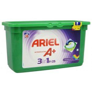 Ariel Капсули за Цветно Пране 3in1 A+ Pods Colour & Style 38 изпирания
