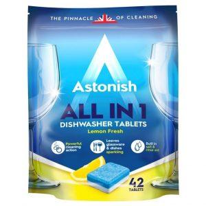 Astonish All In 1 Таблетки за Съдомиялна 42 табл. 840 г.