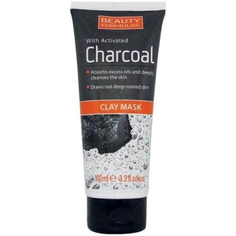 Beauty Formulas Почистваща Маска за Лице с Активен Въглен и Каолин 150 ml.