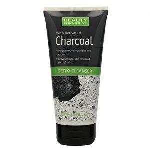 Beauty Formulas Почистващ Крем за Лице с Активен Въглен Detox Cleanser 150 ml.