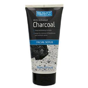 Beauty Formulas Ексфолиант за Лице с Активен Въглен Facial Scrub 150 мл.
