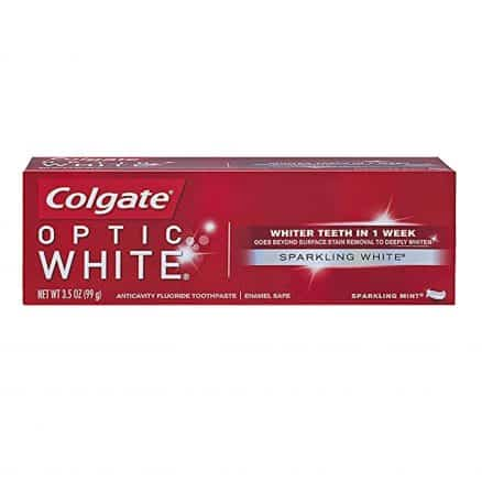 Colgate Optic White Избелваща Паста за Зъби Sparkling White 75 мл.