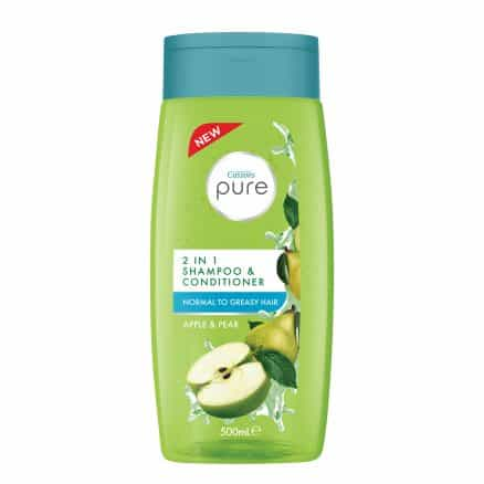 Cussons Pure 2in1 Шампоан и Балсам Ябълка и Круша 500 мл.