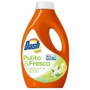 Dash Pulito & Fresco Течен Перилен Препарат Магнолия и Алое вера 18 изпирания 990 мл.