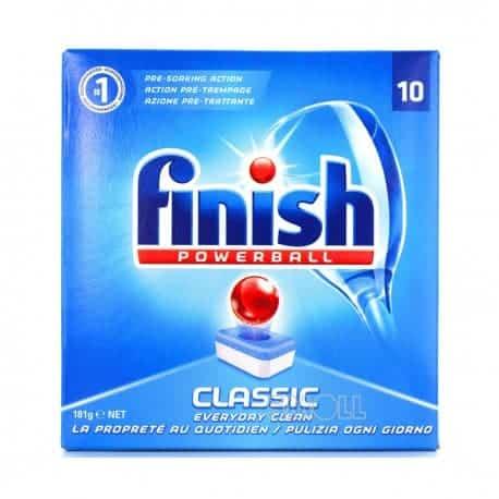 Finish Powerball Classic Таблетки за Съдомиялна – 10 табл. 163 г.