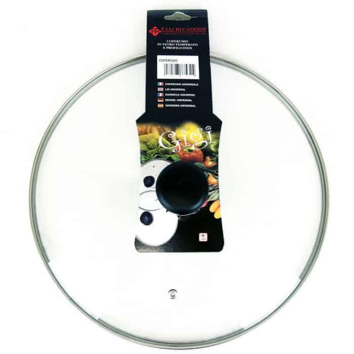 FR Rivadossi Стъклен Капак за Тенджера – 14 см.