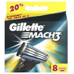 Gillette Mach 3 Резервни Ножчета 8 бр.