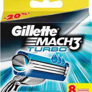 Gillette Mach 3 Turbo Резервни Ножчета 8 бр.