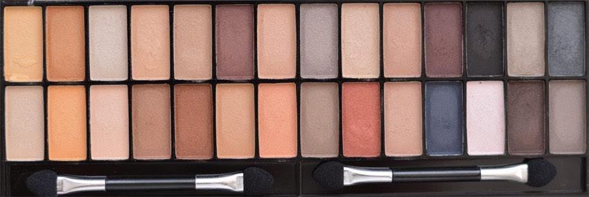 Max & More Eyeshadow Palette Палитра Сенки за Очи – Nude