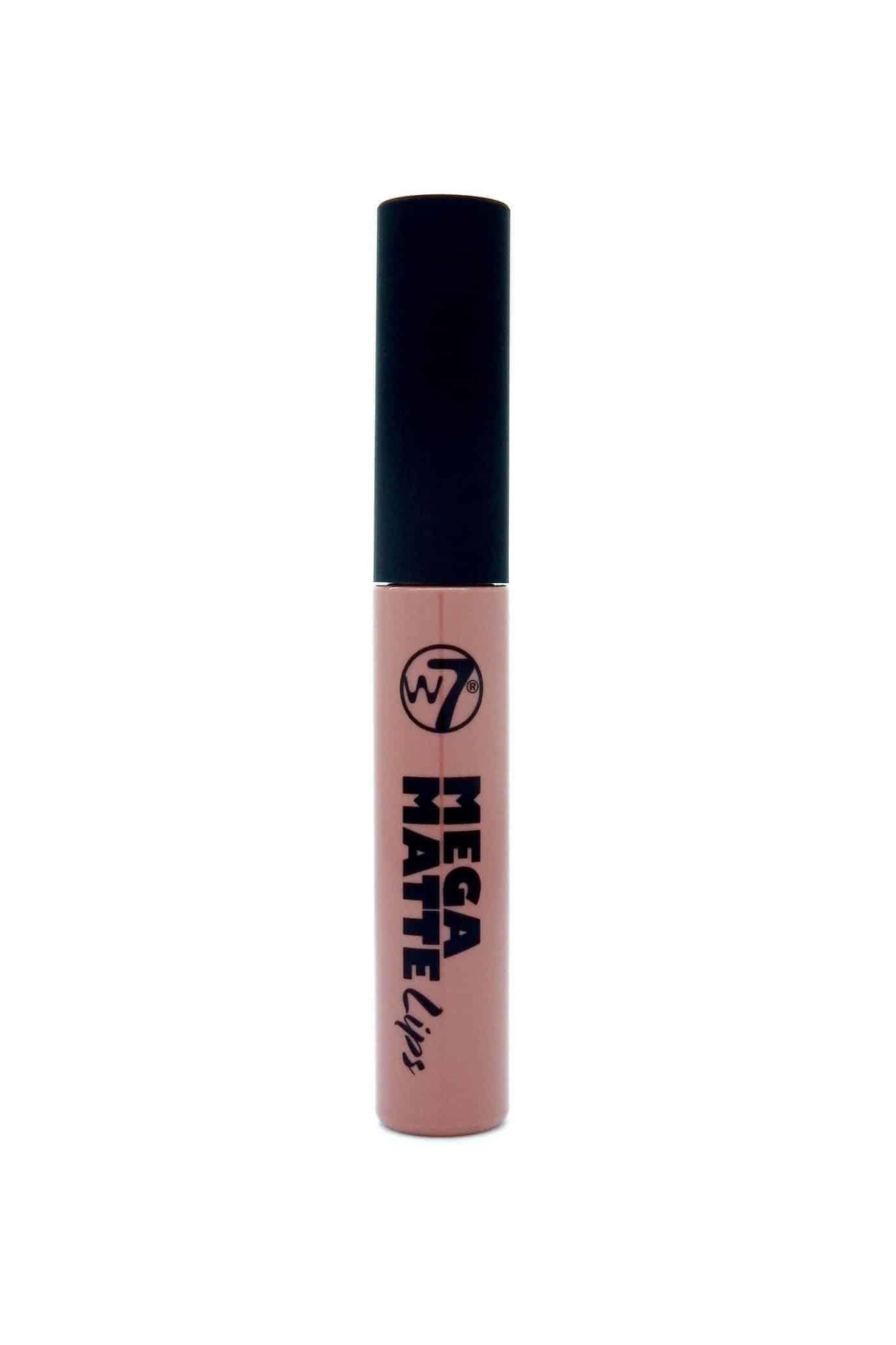 W7 Mega Matte Lips Nude Течно Матово Червило Caked
