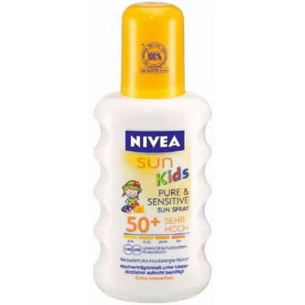Nivea Sun Kids Слънцезащитен Спрей Фактор 50+ 200 мл.
