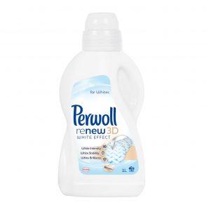Perwoll Течен Перилен Препарат за Бяло Пране 16 изпирания 1 л.