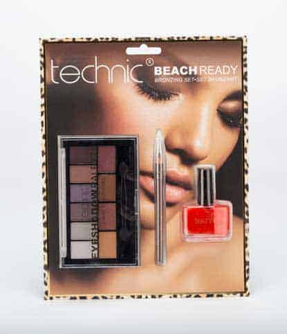 Technic Bronzing Set Eyeshadow Palette Комплект Сенки за Очи, Молив и Лак за Нокти