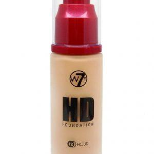 W7 HD Foundation Фон дьо Тен Sand Beige 30 ml.