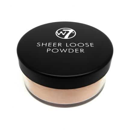 W7 Sheer Loose Powder Фина Матираща Пудра Ivory 16 g.