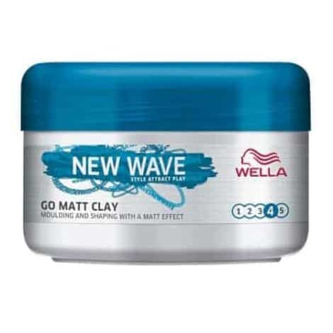 Wella New Wave Go Matt Clay Стилизант за Коса № 4 75 мл.