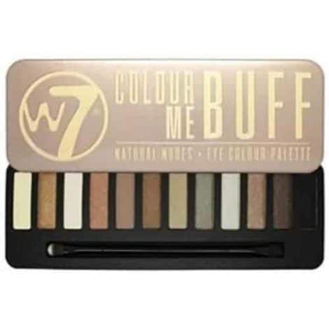 W7 Colour Me Buff Палитра Сенки
