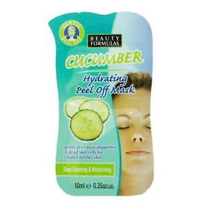 Beauty Formulas Възстановяваща и Хидратираща Маска за Лице – Краставица