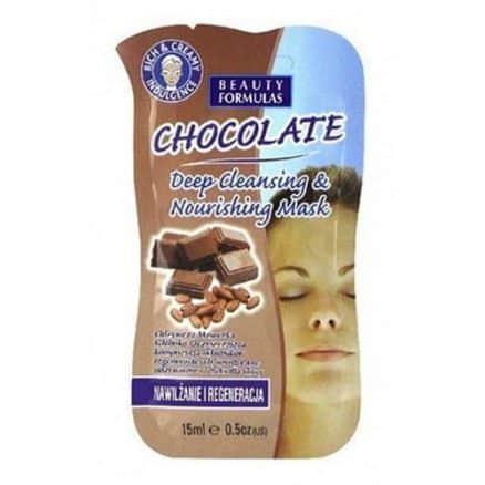 Beauty Formulas Възстановяваща и Хидратираща Маска за Лице – Шоколад